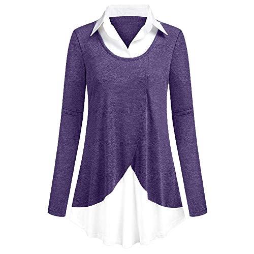 Sweatshirt dames lange mouwen casual losse bovenstukken goedkoop lange mouwen trui herfst winter stijlvolle oversize trui t-shirt blouse