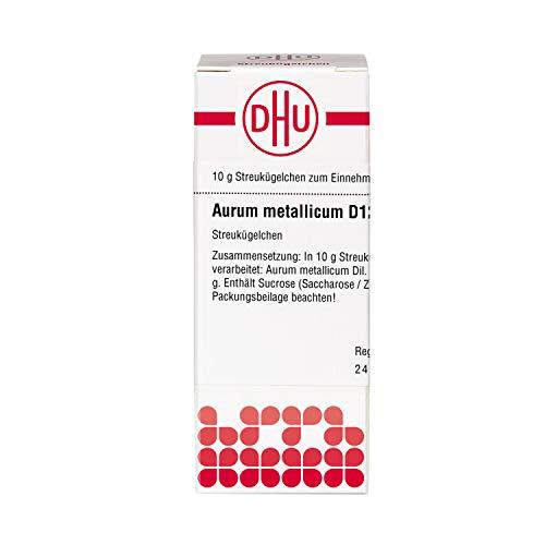 DHU Aurum metallicum D12 Globuli, 10 g Globuli