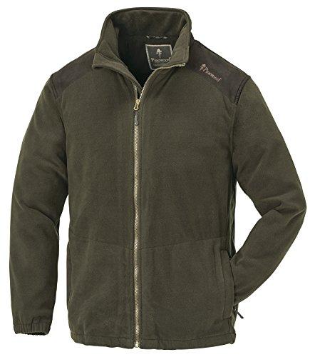 Pinewood Herren Retriever Jacke, dunkeloliv/Wildlederbraun, XL