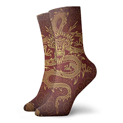 Chaussettes de sport pour hommes Crew Socks Vintage Compass Sextant Old World Map Fantastic Womens Stocking Accessory Sock Clearance For Girls