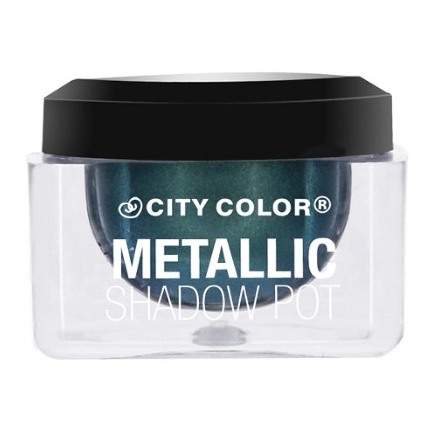 発見推進、動かすキネマティクス(6 Pack) CITY COLOR Metallic Shadow Pot - Meteor Shower (並行輸入品)