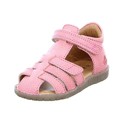 Bundgaard Kinder BG202047G Mädchen Leder Lederdecksohle Sandale Coral Rose Größe 24 EU