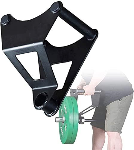 WSVULLD Rotación Barbell Landmine Grappler, TR Placa DE BARRILLA T Placa Post Post Mine Mine, Placa DE Placa OLÍMPICA Poste INSTRUERTE Y Hander, GRASH Completo 360 °, excelente para los Ejercicios de