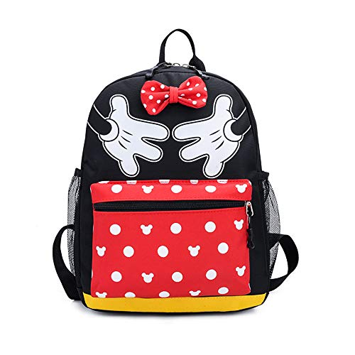 Minnie Mouse Girls Backpack for School Bag Cute Kids Bookbag Childrens Travel Disney Backpack