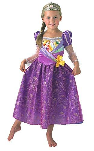 Rubie's Disfraz oficial de Princesa Disney para niños de Rapunzel, tamaño pequeño