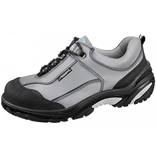 Abeba Abeba , Herren Sicherheitsschuhe Mehrfarbig Grau/Schwarz 36