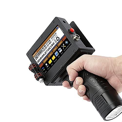 Logo Printer Portable Inkjet Printer QR Bar Batch Code Date Number Expiry Date Label Mobile Hand Jet Handheld Thermal Printer