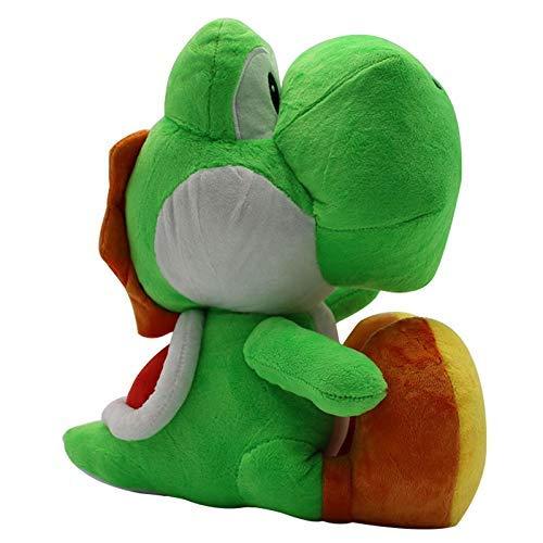 APcjerp Jouets en Peluche 1 Morceau de 30 cm Mario Bros en Peluche Yoshi Vert en Peluche Poupée Yoshi Peluche Douce Animaux en Peluche Poupée Enfants Cadeau Hslywan