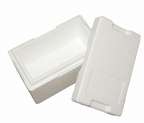 Garnelio Premium Styroporbox/Isolierbox - 270x140x125mm (4,7l) - Gr. 4