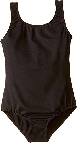 Bloch Girl's Comfort Soft Tank Top Leotard 8-10 Black