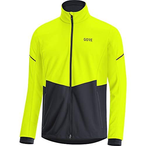 GORE WEAR Herren R5 Gore-tex Infinium Jacke, neon Gelb/Schwarz, L