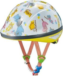 OGK KABUTO(オージーケーカブト) チャイルドメット PEACH KIDS 幼児用 (頭囲 47cm~51cm)