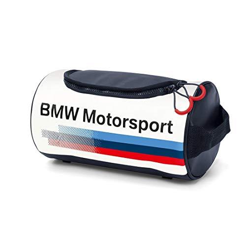 BMW Motorsport Wash Bag White