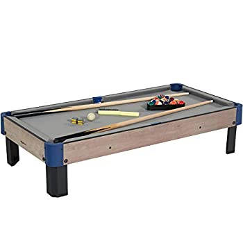 Amazon Basics Tabletop Billiards Pool Table with Accessories