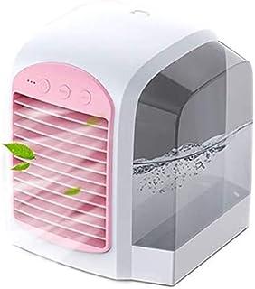 LYATW Enfriar portátil Mini acondicionador de aire de refrigeración for el dormitorio del refrigerador del ventilador, simple agua de refrigeración de aire acondicionado ventilador Silencio Agua-venti