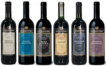 イタリア満喫 赤ワイン 飲み比べ 6本セット 750ml×6