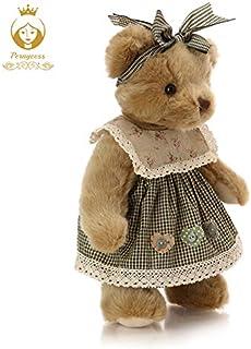 ぬいぐるみ 1ピース30センチかわいいレトロクマぬいぐるみのぬいぐるみ、ぬいぐるみ共同クマの人形、子供のおもちゃ、なだめる人形、誕生日プレゼント