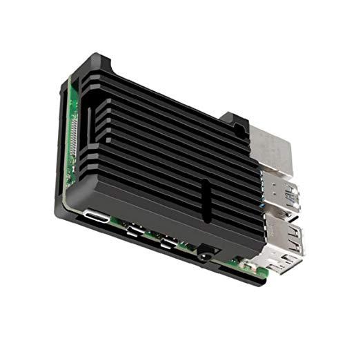 Homiki 4B Modell Shell Micro Computer Metall für Kühlung Aluminiumlegierungeinschließung Wärmeableitung für Raspberry Pi Zubehör Vorstand Industrie