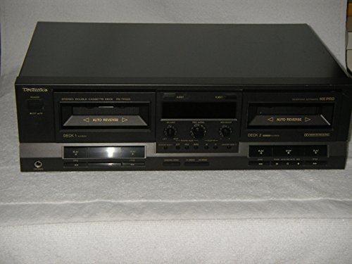 New TECHNICS Stereo Double Cassette Deck, Model RS-TR333