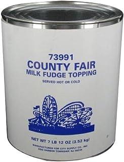 I.Rice & Company Sundae Supreme Hot Milk Fudge Topping, 10 lb. Can | 1 Each