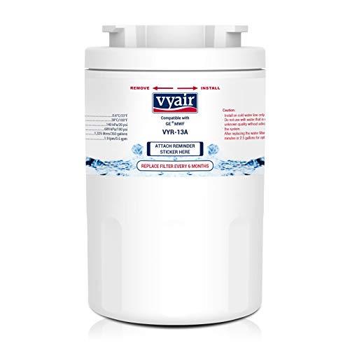 Vyair VYR-13A Filtro de Agua para Nevera Compatible Con GE MWF, MWFA, MWFP, GWF, GWFA, GWF01, General Electric SmartWater, Hotpoint HWF, HWFA, MWF, MWFA (1)