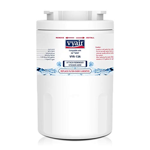 Vyair VYR-13A Kühlschrank-Wasserfilterpatrone Ersatz für General Electric GE SmartWater MWF, MWFA, MWFP, GWF, GWFA, GWF01; Hotpoint HWF, HWFA, MWF, MWFA; Sears/Kenmore 9991, 46-9991, 469991 (1)