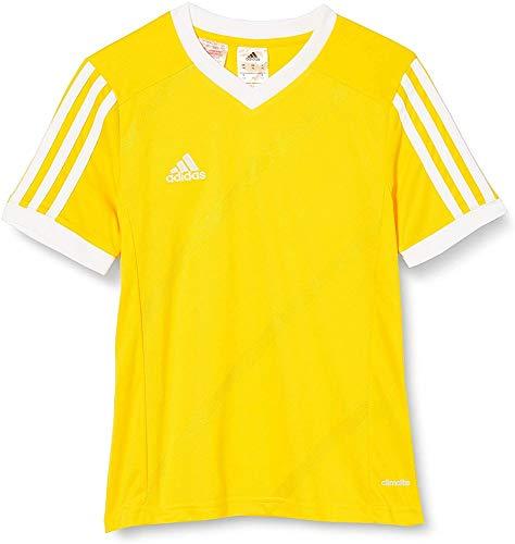 adidas Tabe 14 JSY - Camiseta para hombre, color amarillo / blanco, talla 152
