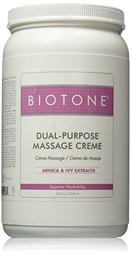 Biotone Dual-Purpose Massage Creme, 68 Ounce