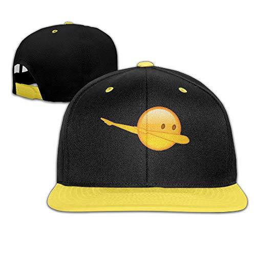 KOBB Dab Emoji Teens Cute Snapbacks Street Dancing Hip-Hop Visor Starter Snapback Hats Baseball Caps