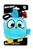 Angry Birds Movie 4.5' Plush Clip On: Blue
