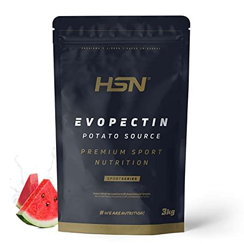 Amilopectina de Patata Evopectin HSN | Suplemento Deportivo de Carbohidratos en Polvo Sin Azúcar | Fácil Digestión | Bajo Índice Glucémico | Vegano, No-GMO, Sin Gluten, Sin Lactosa | Sandía | 3 Kg