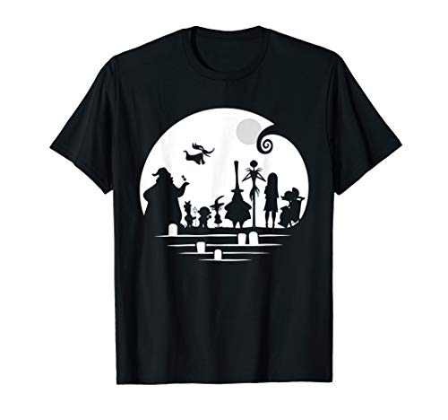 Disney The Nightmare Before Christmas Character Silhouette T-Shirt