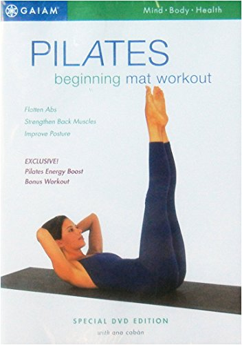 Pilates Beginning Mat Workout special edition exercise DVD fitness