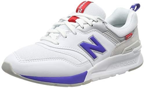 New Balance Damen 997H d Sneaker, Weiß (White White), 43 EU