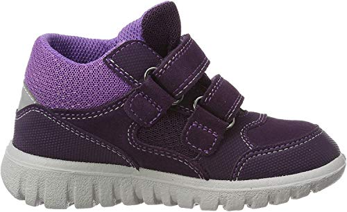 Superfit Baby Mädchen SPORT7 Mini Sneaker, Violett (Lila/Lila 90 90), 25 EU