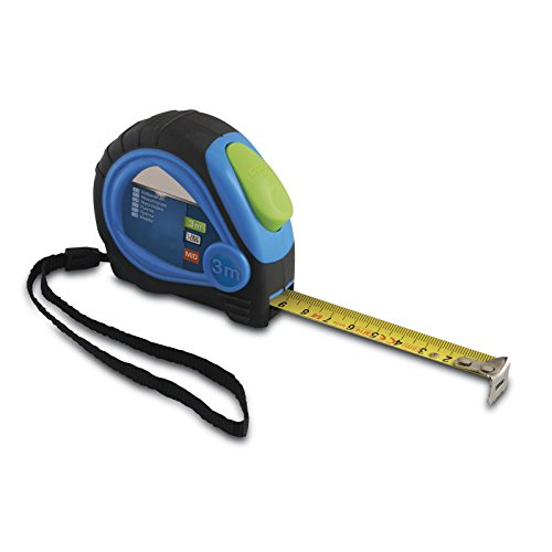SECOTEC® Rollbandmaß Maßband Rollmaßband Bandmaß Rollmaß 8 m (Breite des Bandes: 25 mm / mit Nylonbeschichtung ) inkl. Bandbremse / Sperre
