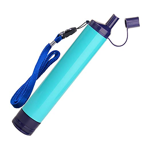 WakiWaki Straw Filter, Straw Water Filter, Hiking Water Purifier, Camping Straw Filter for...