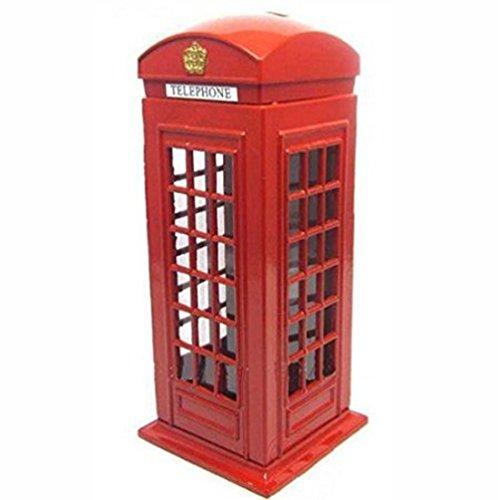 Red Telephone Booth Piggy Bank, London Piggy...