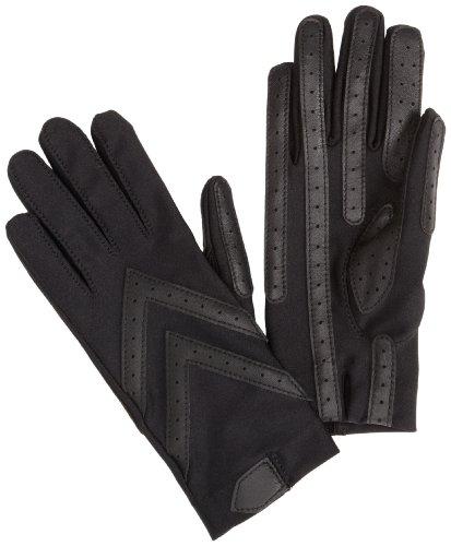 Isotoner Women's Shortie Unlined Glove, Black, Small/Medium