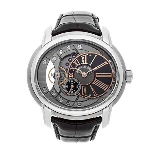 Audemars Piguet Millenary Swiss-Automatic Male Watch 15350ST.OO.D002CR.01 (Certified Pre-Owned)