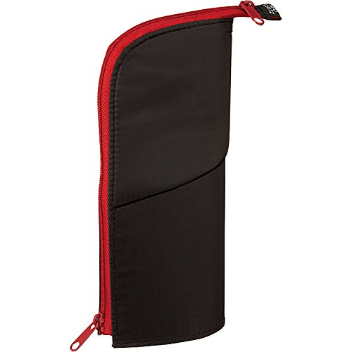 "GAOAG 1 X (Japan Import) Kokuyo ""NeoCritz"" Transformer Pencil Case (6.Black × Red)"
