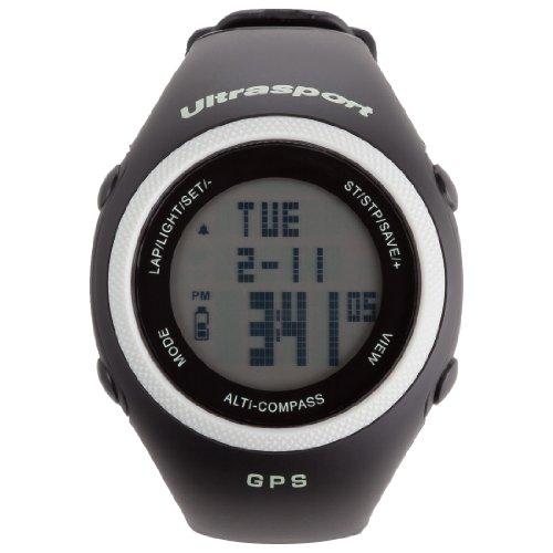 Ultrasport NavRun 600 - Pulsómetro GPS con Cinta Regulable para el Pecho de 2.4 GHz
