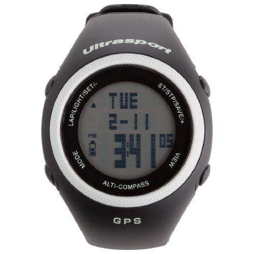Ultrasport GPS polscomputer NavRun 600 met 2,4 GHz borstband, 311700000031