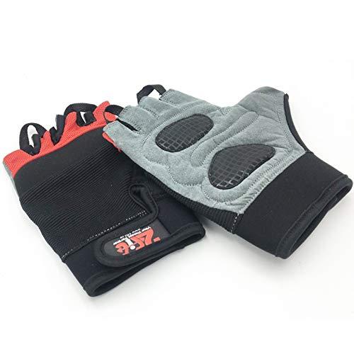2Fit Guanti da Fitness per sollevamento pesi, Body Building Trainiong Guanti sportivi Unisex