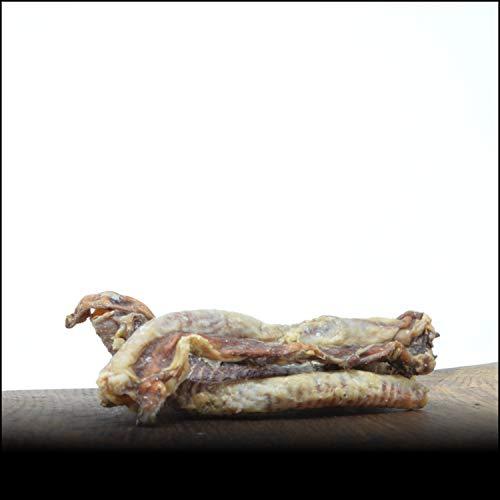 George & Bobs Lammstrossen - 1000g | Ganze Stücke 8-12cm | Lecker getrocknet und schonend verpackt | Für kleinere Hunde Optimal geeignet
