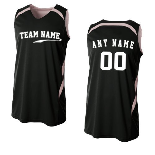 9cdc7bba793 2-Color Reversible (CUSTOM or Blank Back) Basketball Uniform Jersey Tank  Top (
