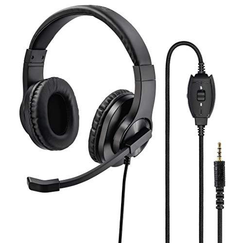 Hama HS-P350, Stereo, Schwarz Universal