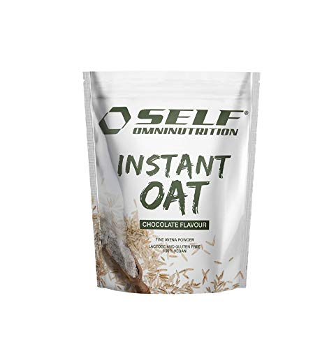 Self Omninutrition Instant Oat 1 Kg gusto Cioccolato farina d'avena senza Glutine