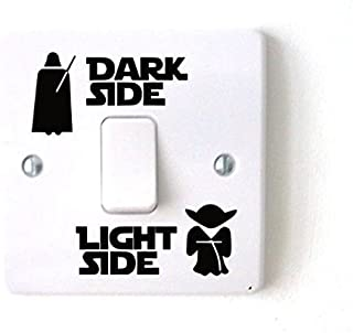 Star Wars Dark Light Side Switch Vinyl Decal Sticker Child Room Lightswitch Wall (4)