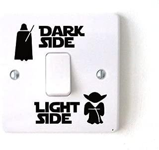 Star Wars Dark Light Side Switch Vinyl Decal Sticker Child Room Lightswitch Wall (2)
